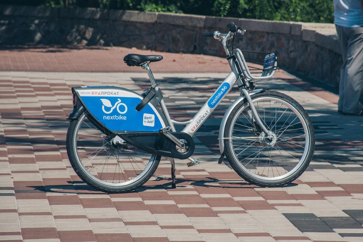 Стоимость арены велосипеда - 30 гривен за 30 минут