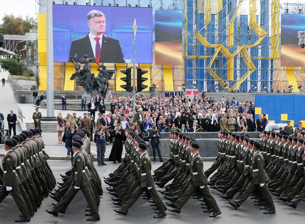 Парад ко Дню Независимости пройдет в центре Киева