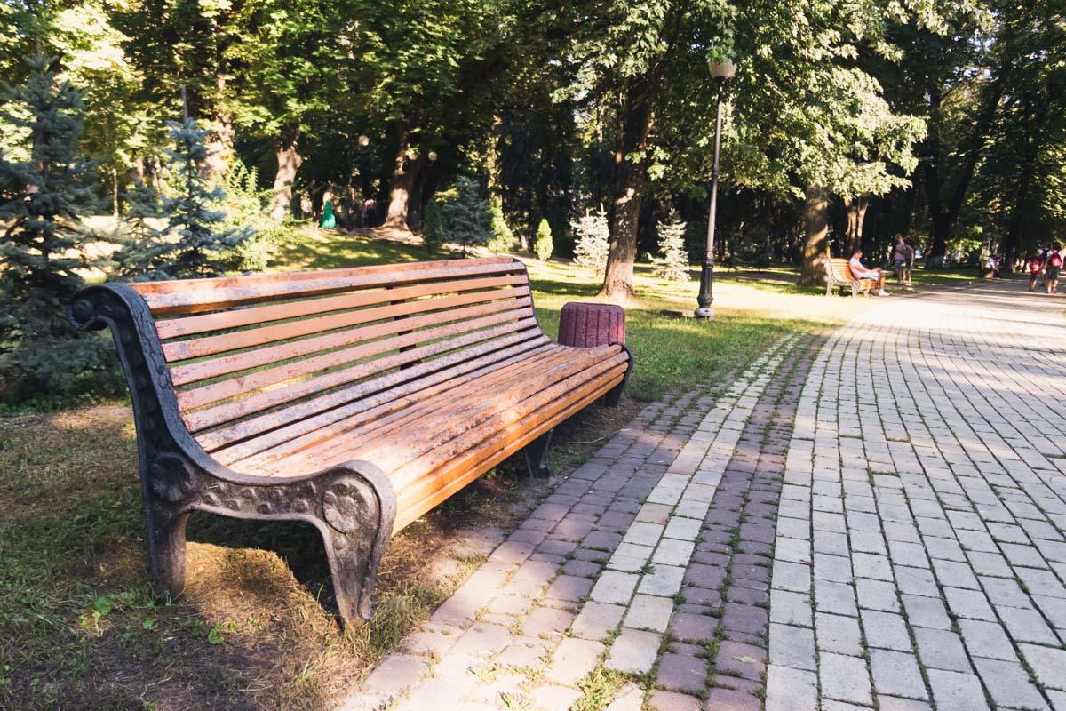 Это место является уникальным памятником паркового искусства прошлого