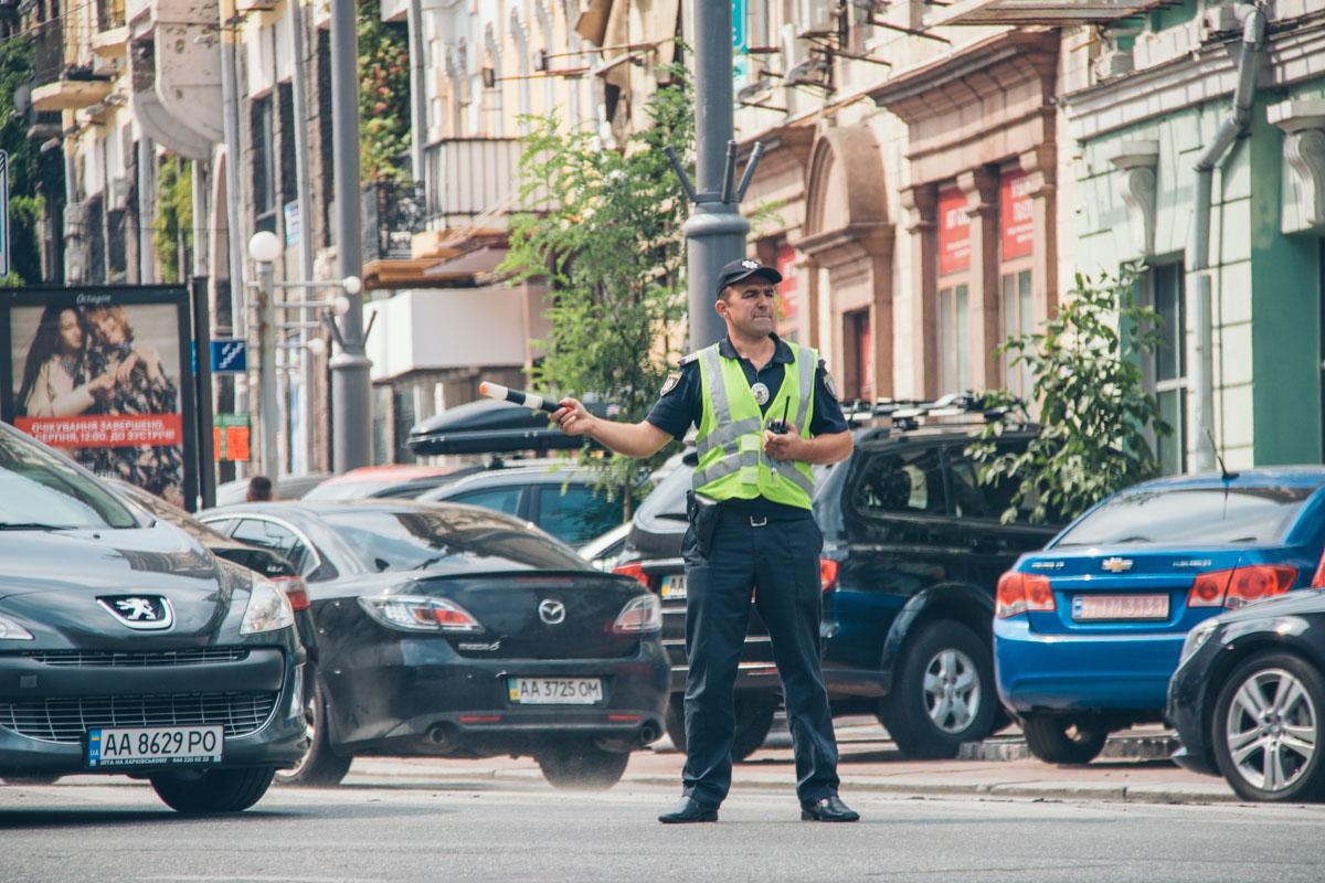 Правоохранители перешли в усиленный режим работы