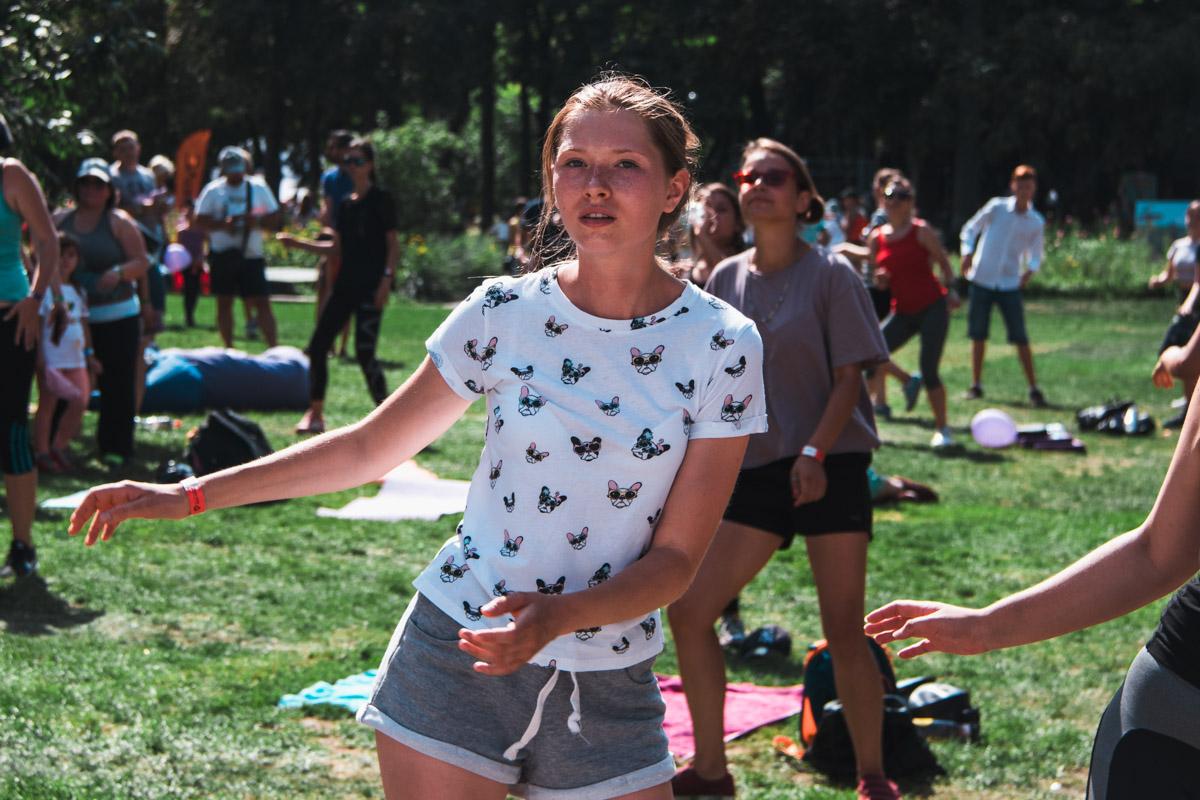 Для беременных организовали занятия по йоге