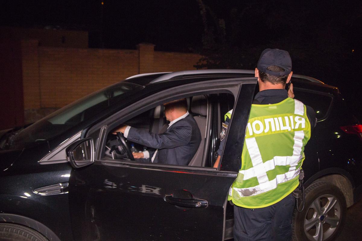 У водителя были явные признаки алкогольного опьянения