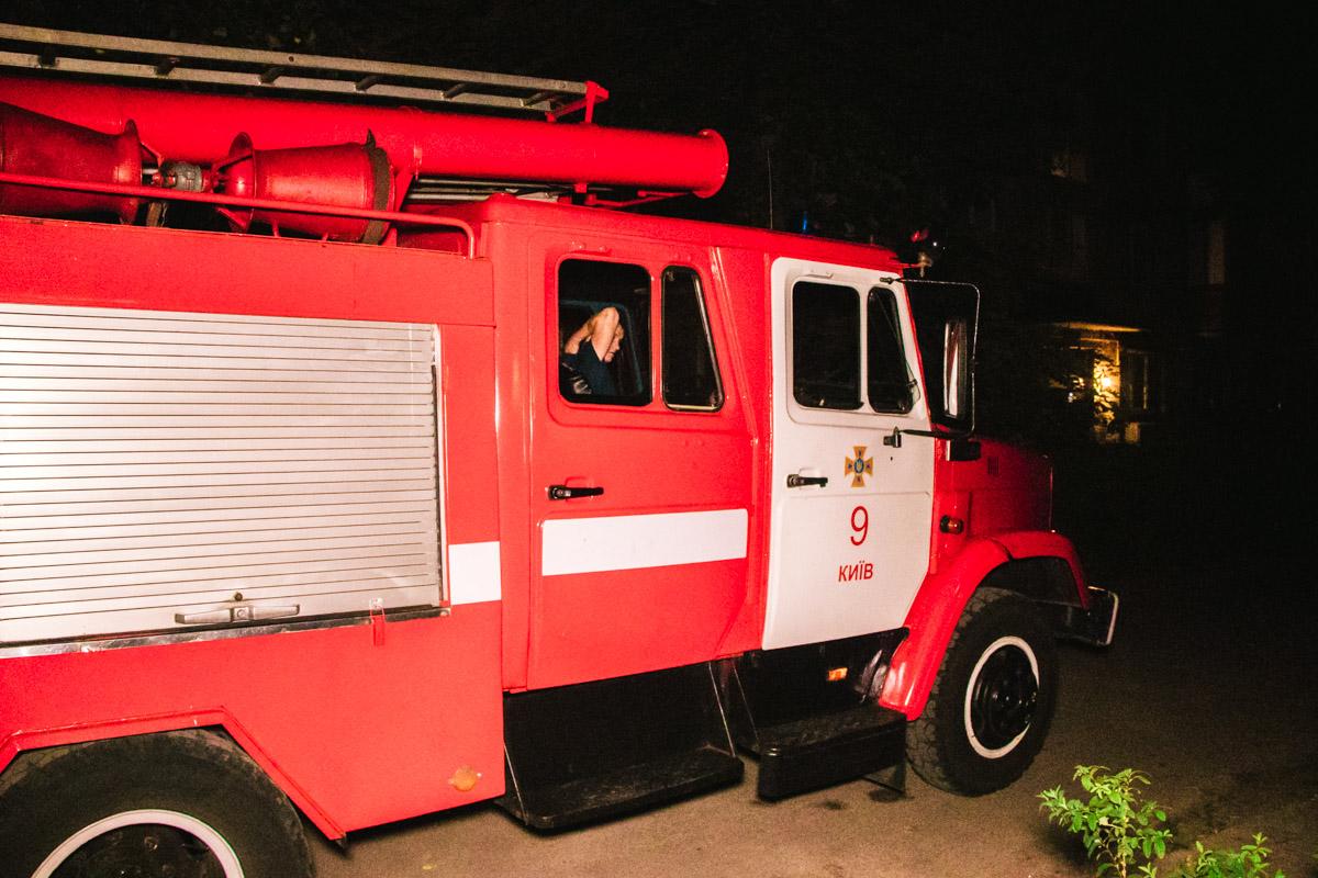 Пожарный локализовали очаг возгорания за 20 минут