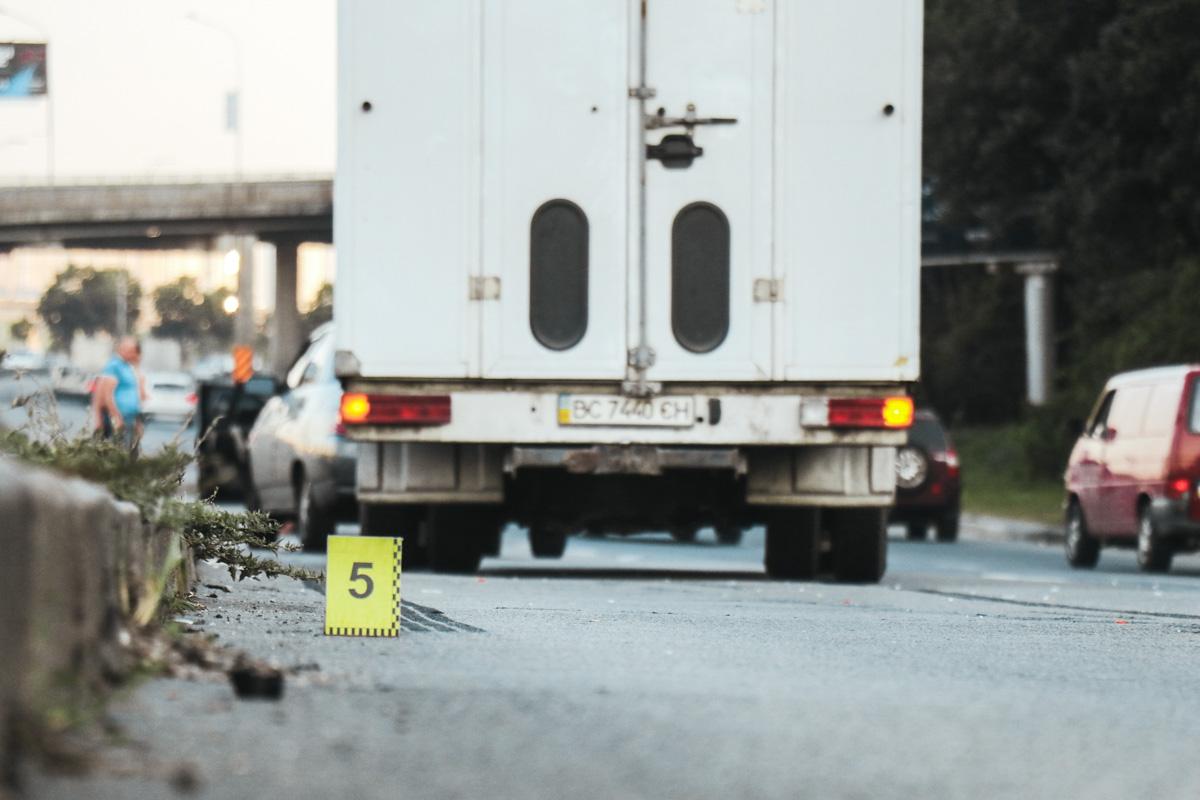 От полученных травм парень скончался на месте
