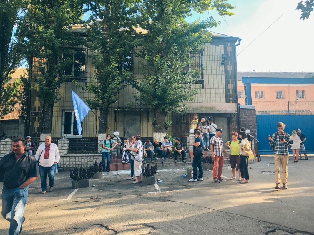 """9 августа в Лукьяновском СИЗО случился бунт, его организовали бойцы батальона """"Торнадо"""""""