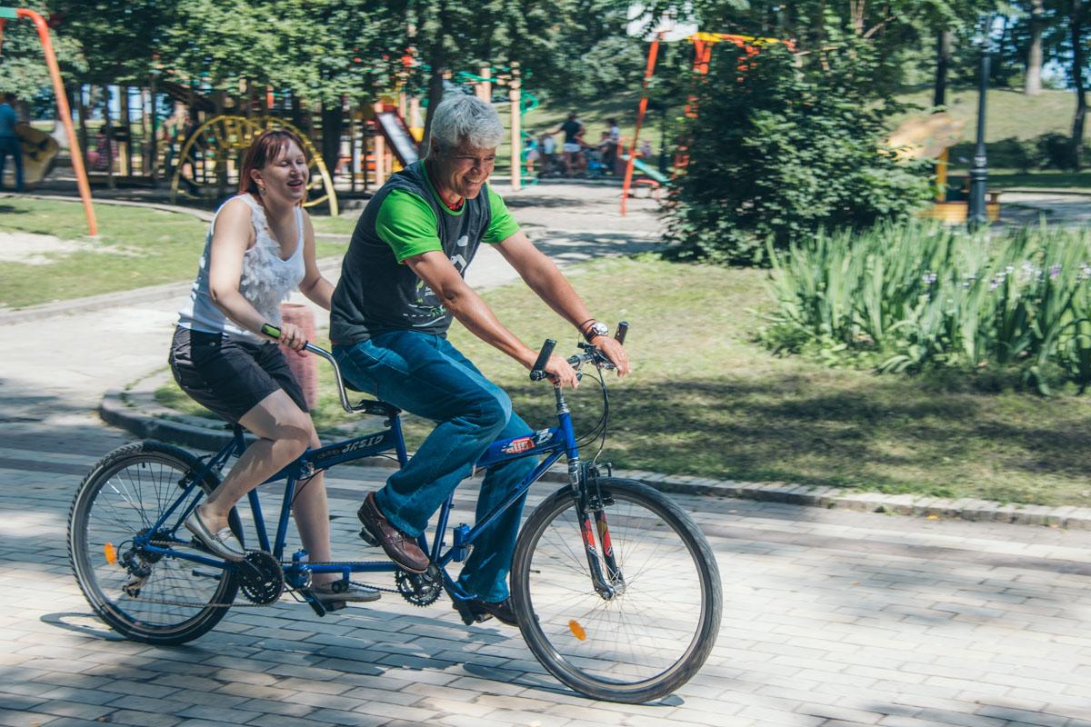 Одна из координаторов проекта будет участвовать в велопробеге