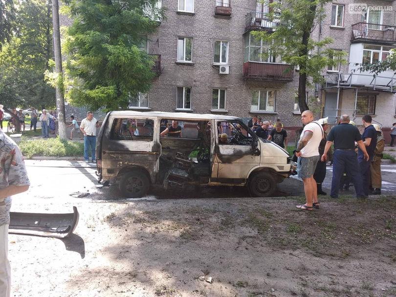 Под Днепром взорвалась машина с депутатом