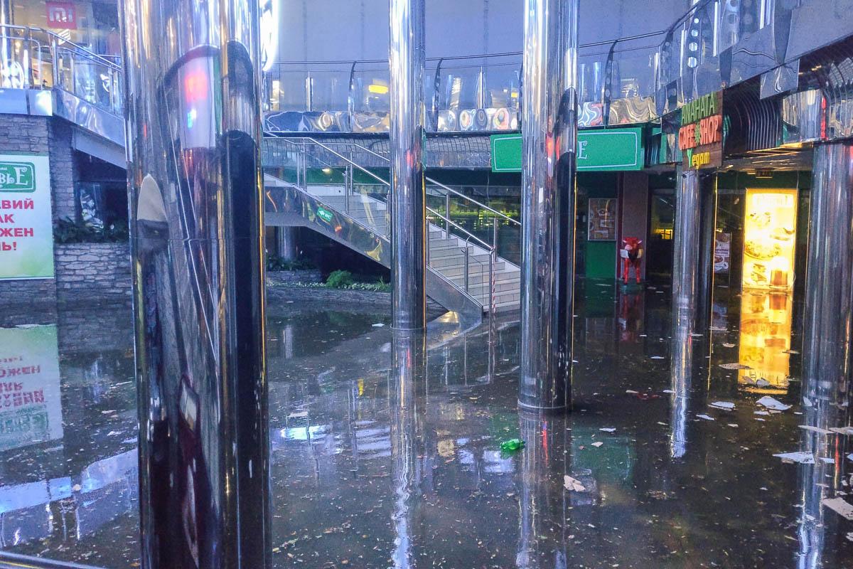 Так выглядит нижний этаж Метрограда после потопа