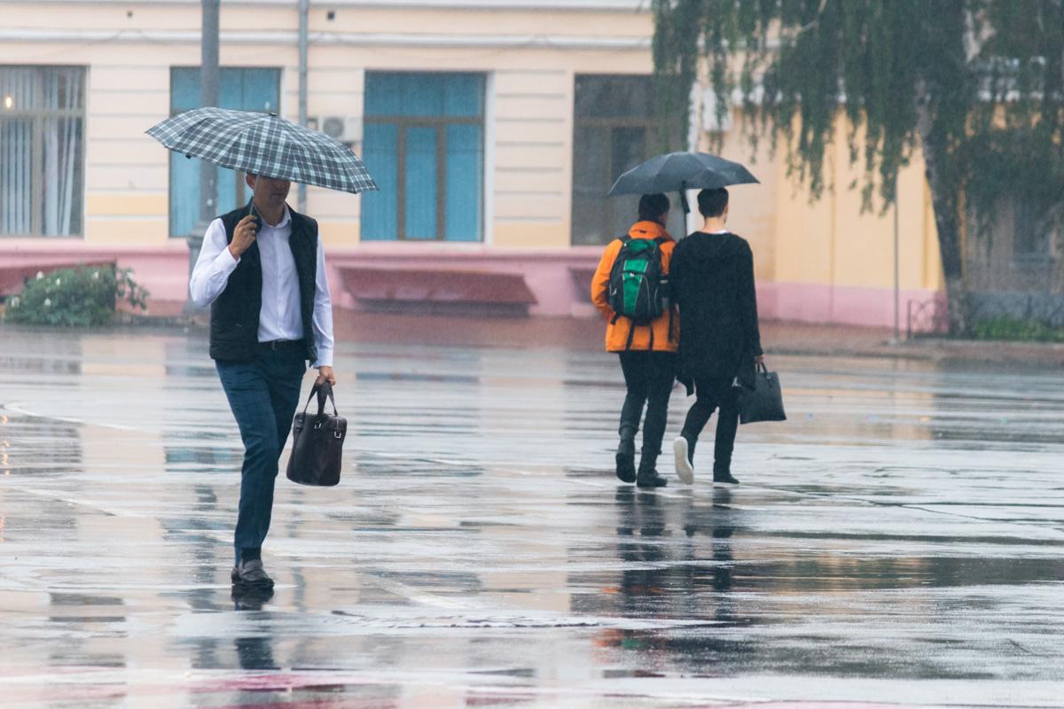 Зонтики - лучшее украшение на этой неделе