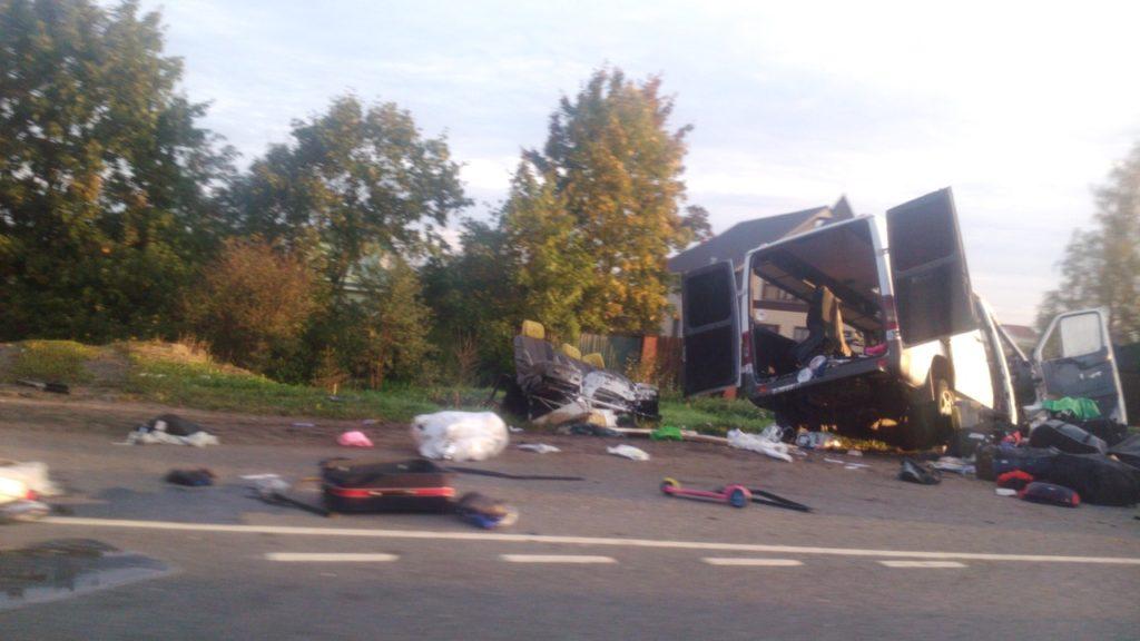 В ДТП, которое произошло на территории России, погибли четверо украинцев