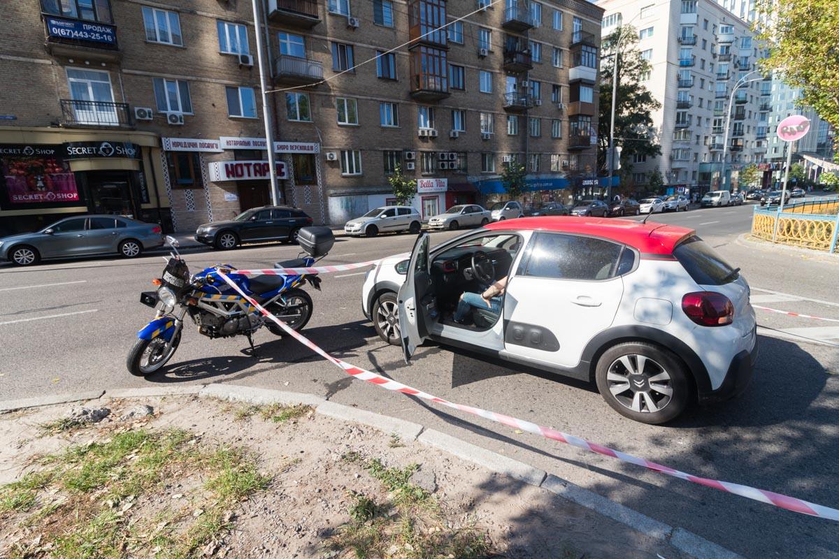 Авария случилась около 9:30