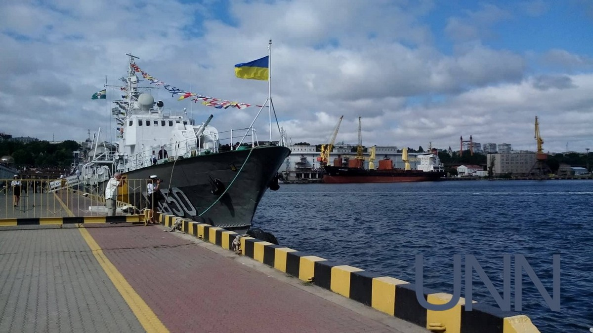 Украина планирует сделать  военно-морскую базу вАзовском море доконца текущего года