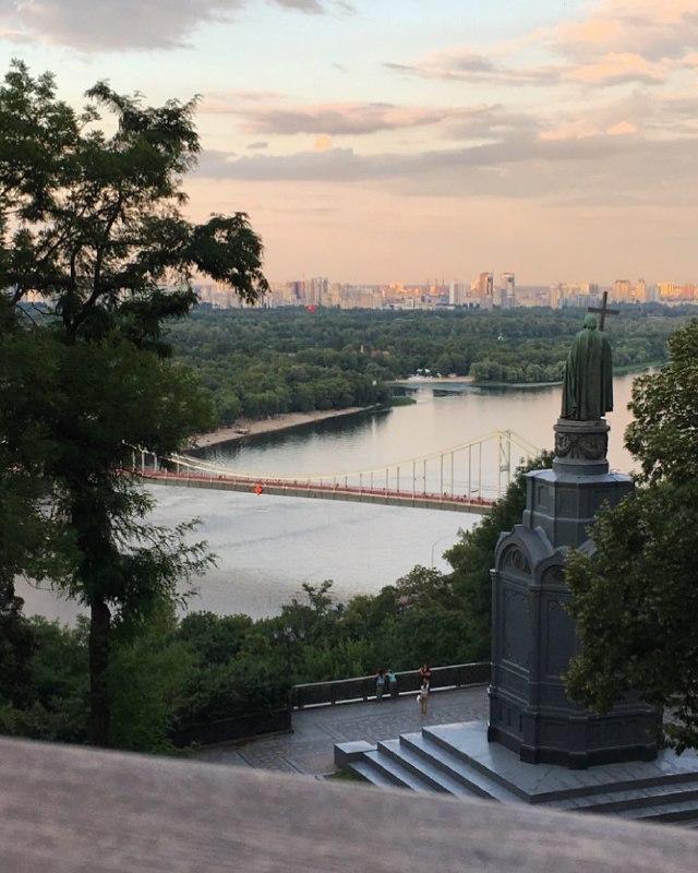 Прекрасный вид с парка Дружбы Народов. Фото: @nadyapotapchuk