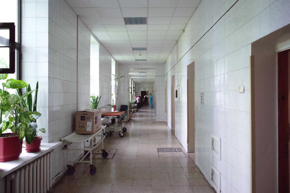 Женщина находится в 17 городской клинической больнице