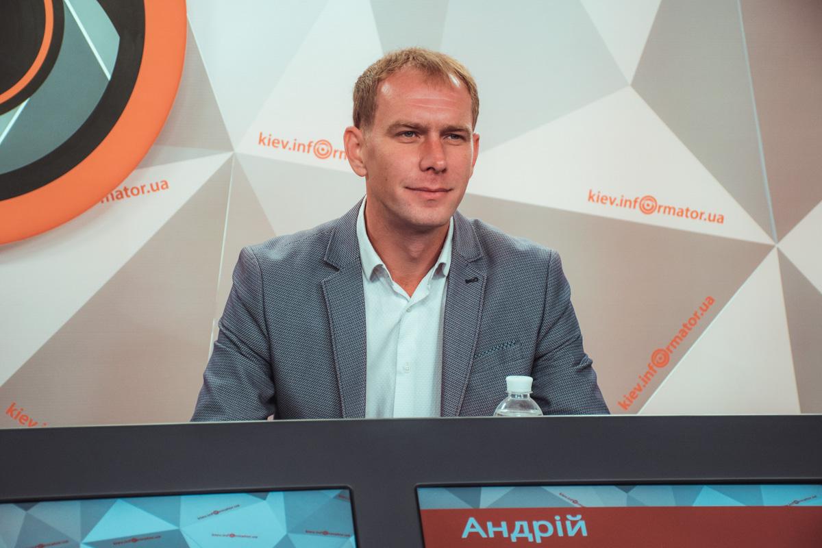 Андрей Малеваный, начальник управления экологии и природных ресурсов КГГА.
