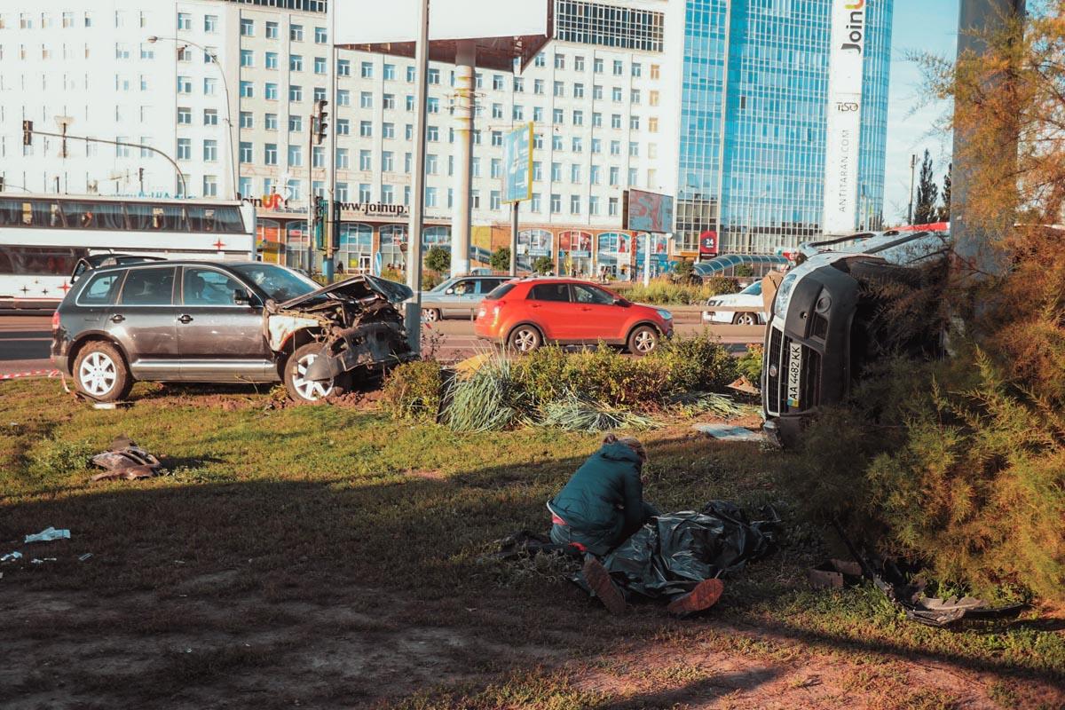 Погибший -пассажир Fiat Doblo