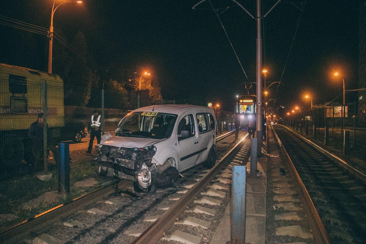 Мужчина, управлявший такси, был пьян
