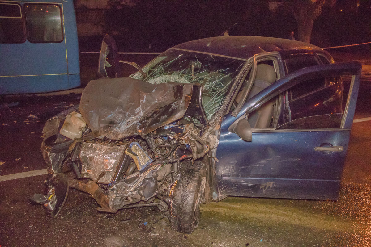 8 сентября, в Киеве на улице Оноре де Бальзака произошло ДТП с пострадавшими