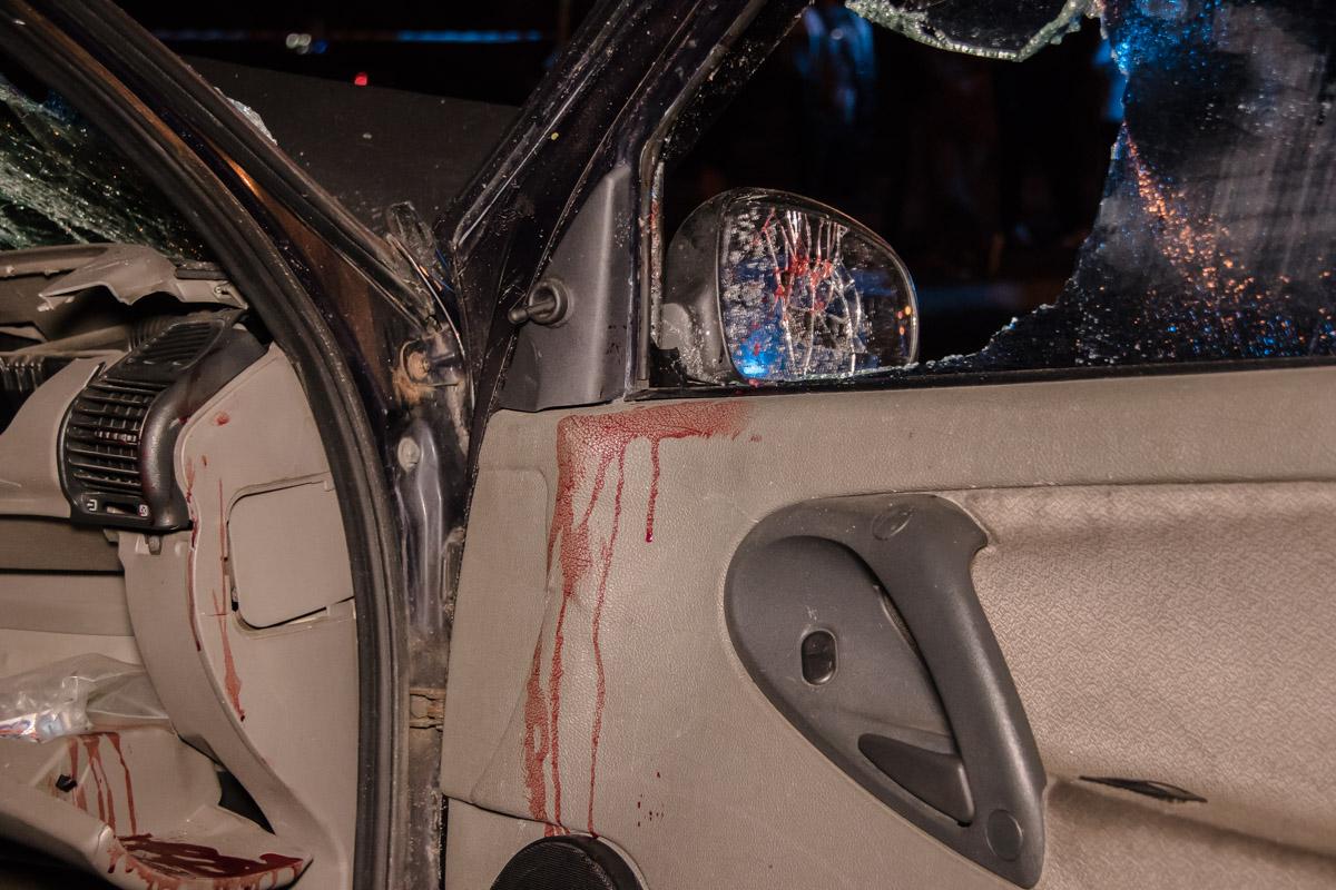 Водитель Lada также был госпитализирован в больницу