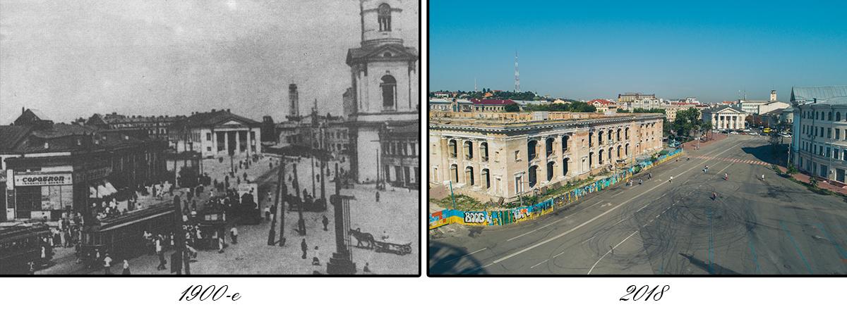 Контрактовая площадь является одной из старейших в Киеве