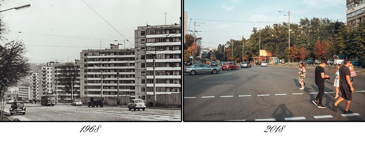 Изначально местность протягивалась до Преображенской улицы