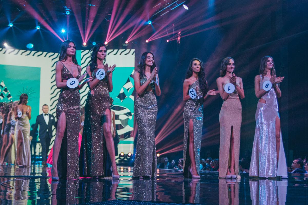 "Финалистки конкурса ""Мисс Украина 2018"""