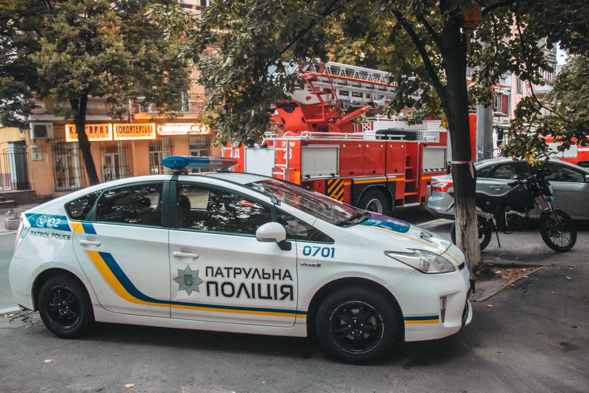 7 сентября в Киеве по адресу улица Андреевская, 11/7 произошел пожар
