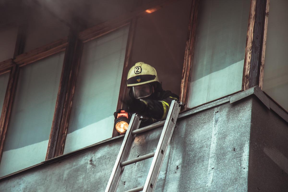 Пожарным удалось оперативно ликвидировать возгорание