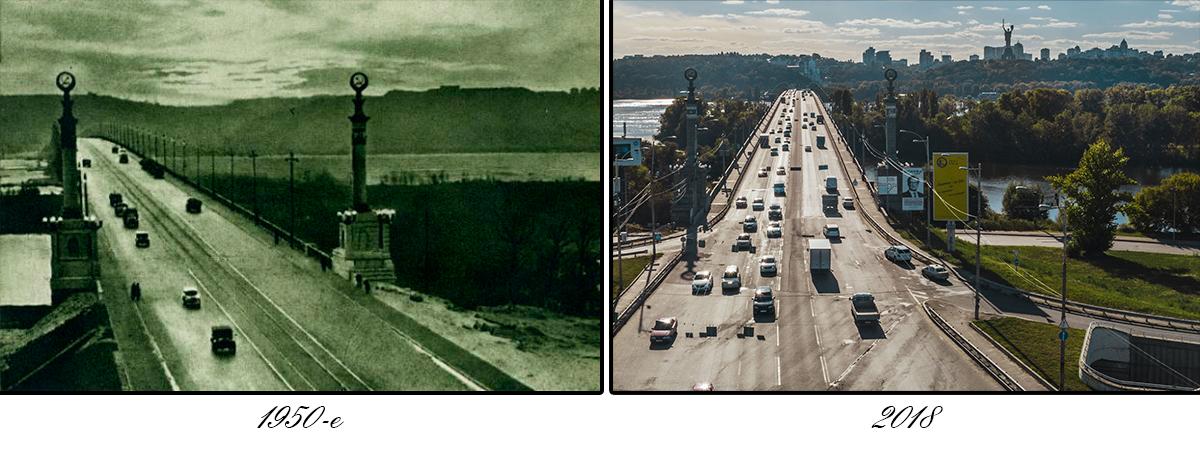5 ноября 1953 года движение по мосту было открыто впервые