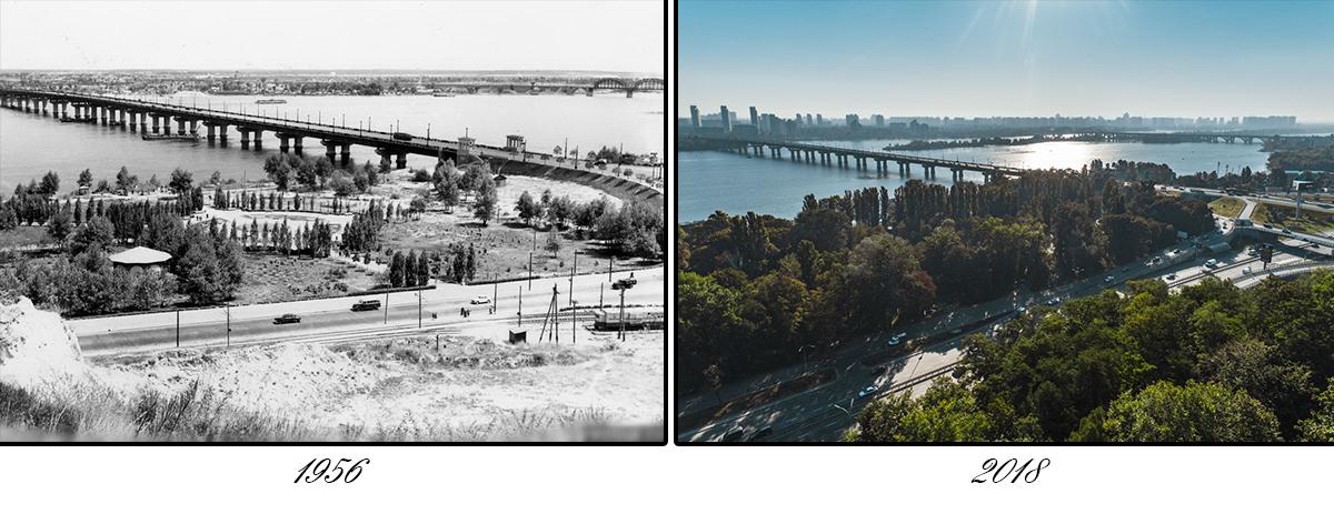 Тот случай, когда преобразился не только мост, а и окружающая среда