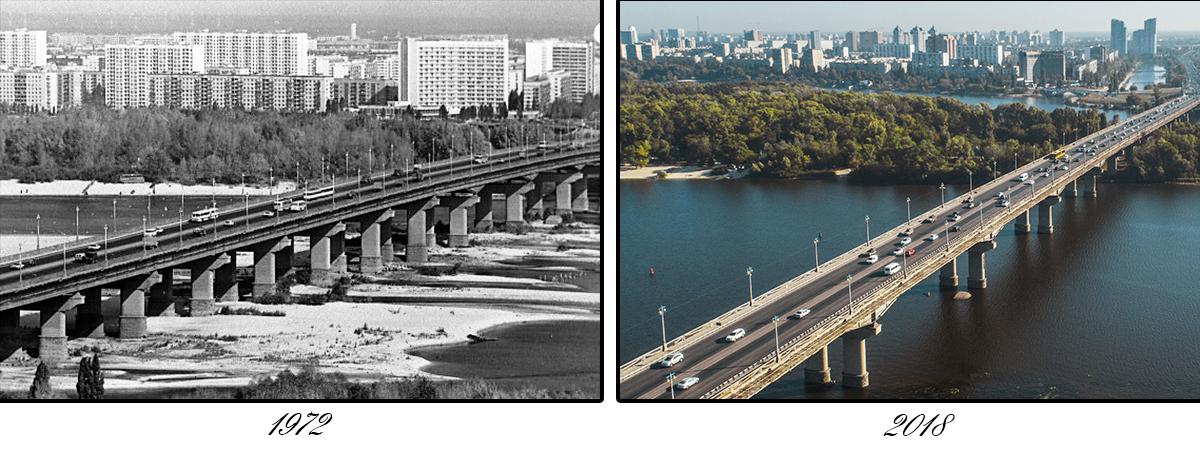 Он является первым в мире цельносварным мостом длинной 1543 метра