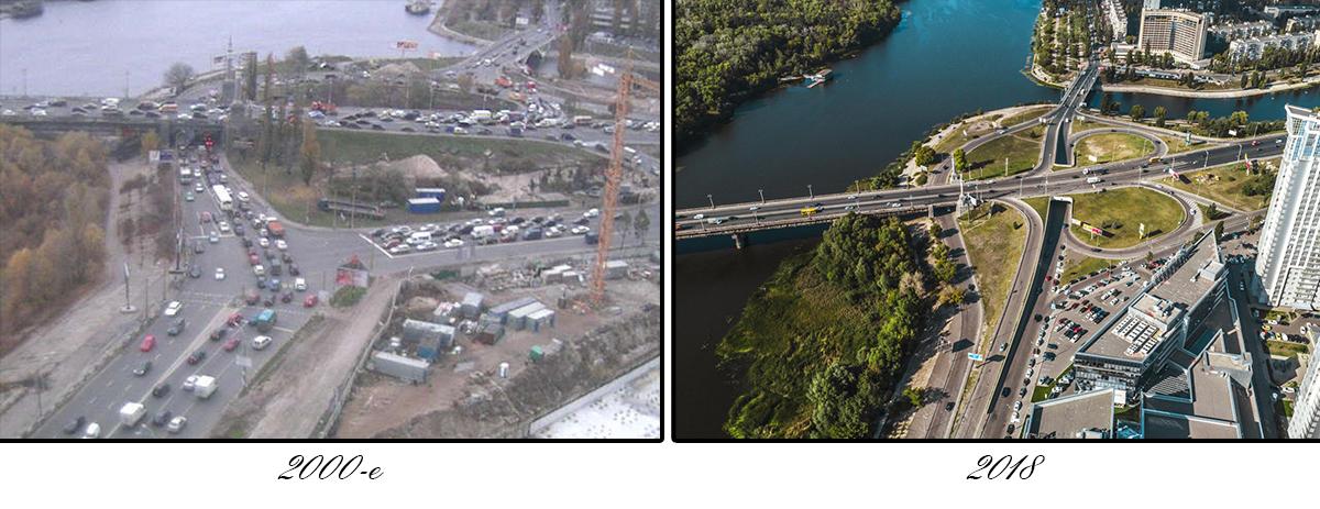 Это первый мост через Днепр, который был построен в послевоенное время