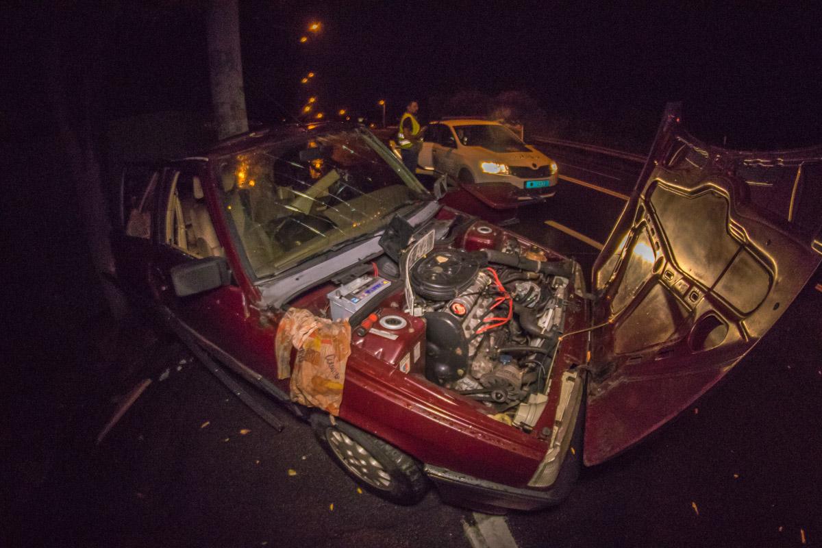 8 сентября в Киеве на Старообуховской трассе произошло серьезное ДТП