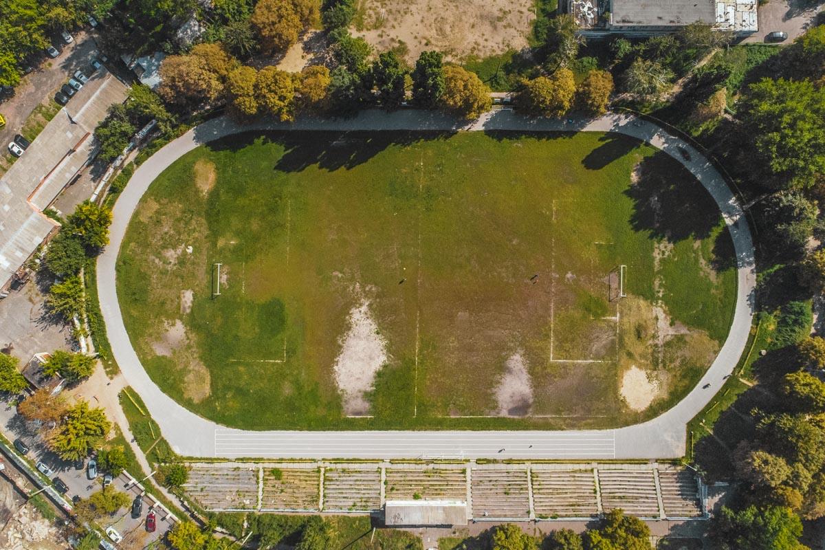 """Стадион """"Старт""""расположенмежду Лукьяновкой и Шулявкой"""