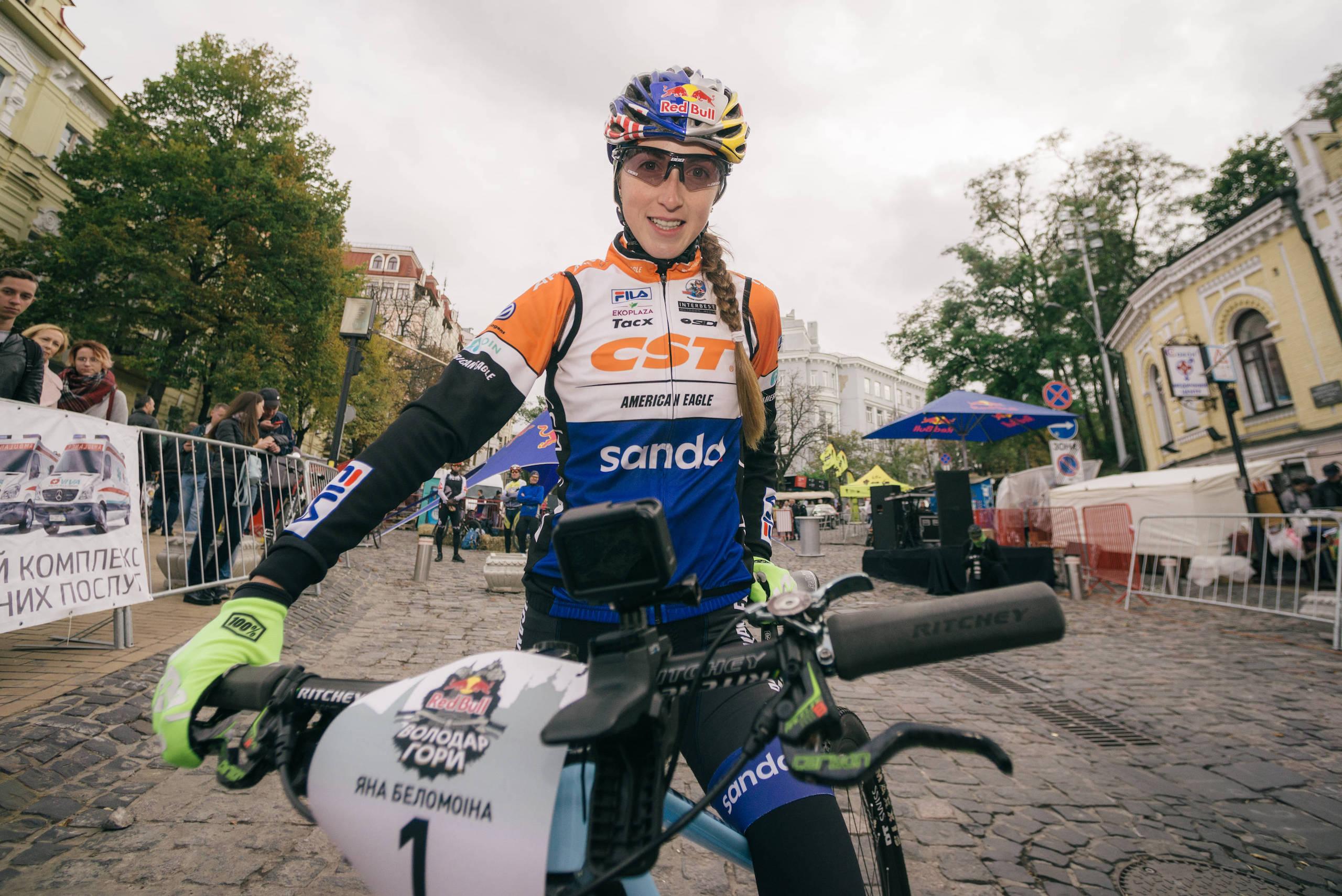 Соревнования откроет известная украинская велогонщица Яна Беломоина