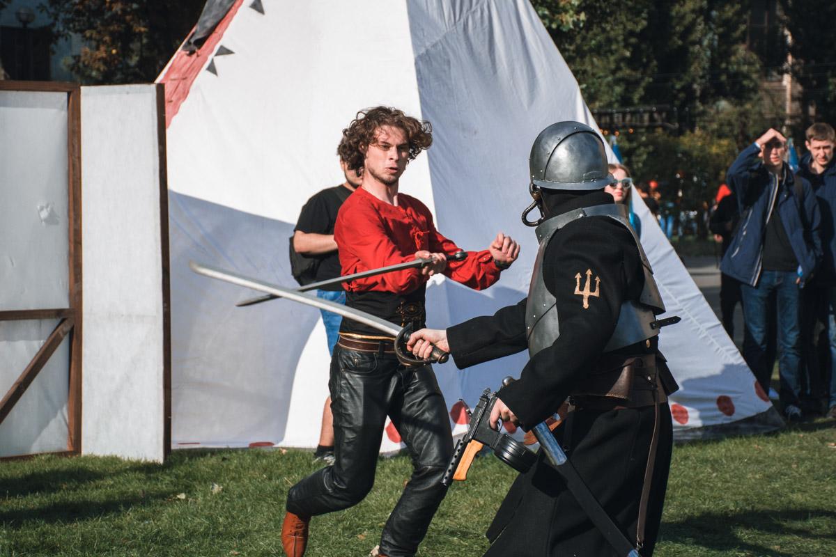 Давно вы видели рыцарские турниры? А вот на Comic Con было все, и даже больше!