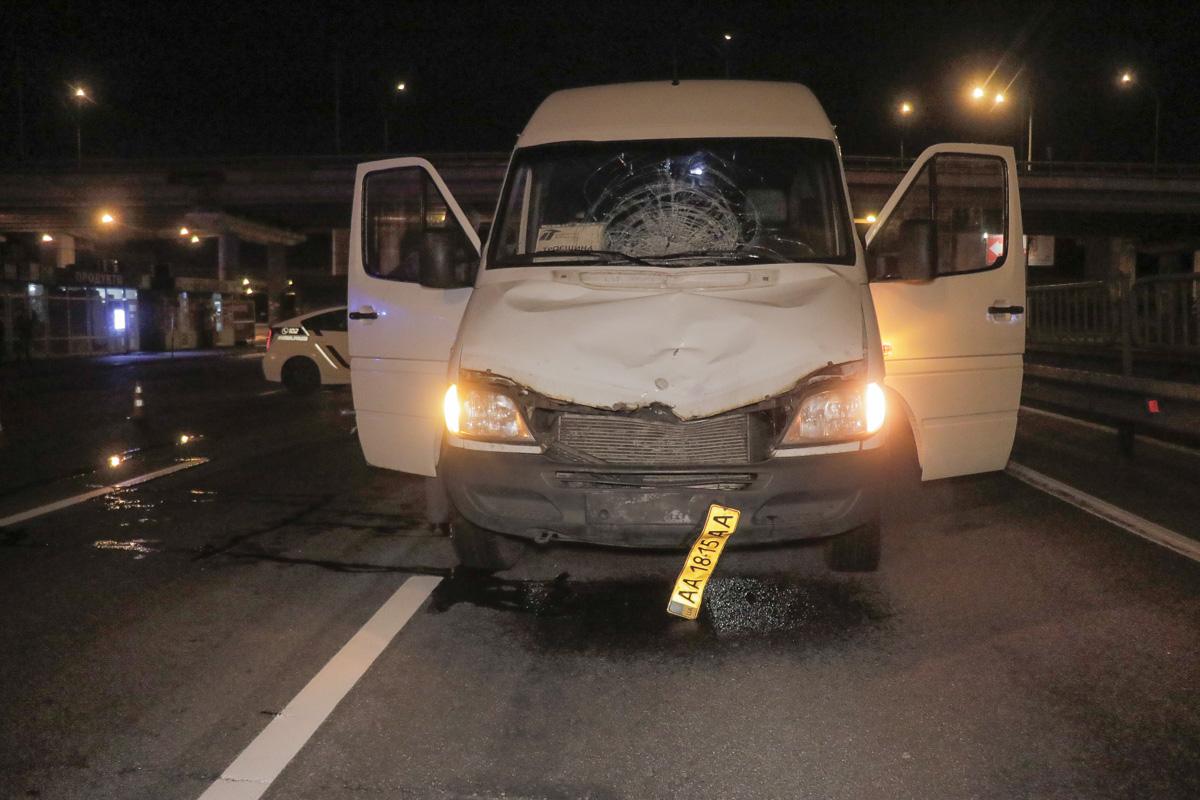 25 сентября, в Киеве на Столичном шоссе произошло смертельное ДТП