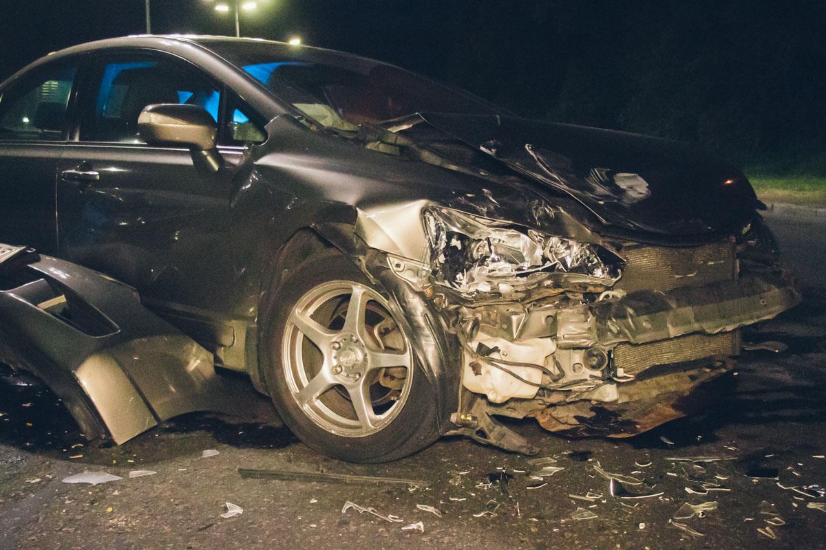Во время движения водителю Honda стало плохо и он потерял сознание