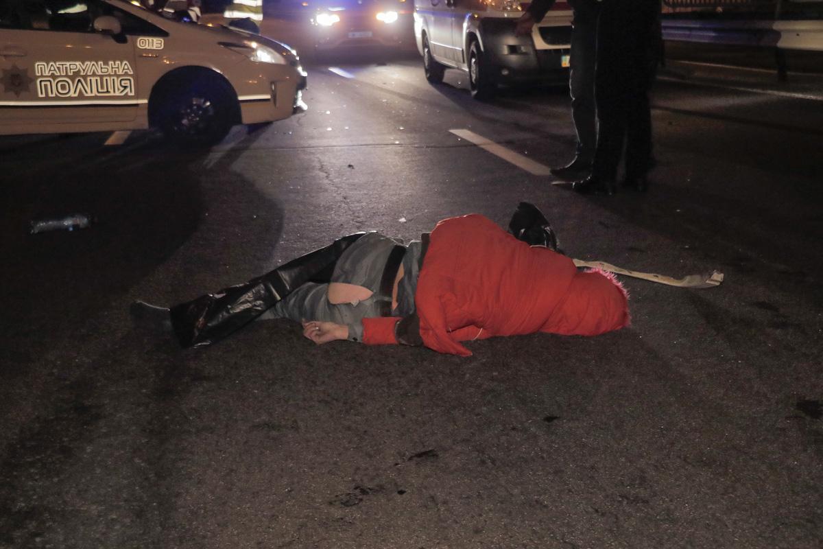 Авария случилась около 00:40