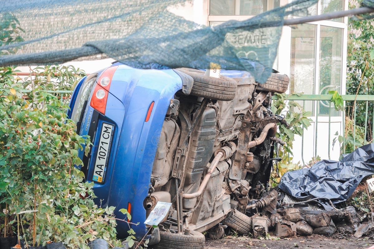 В Дарницком районе Киева произошло смертельное ДТП