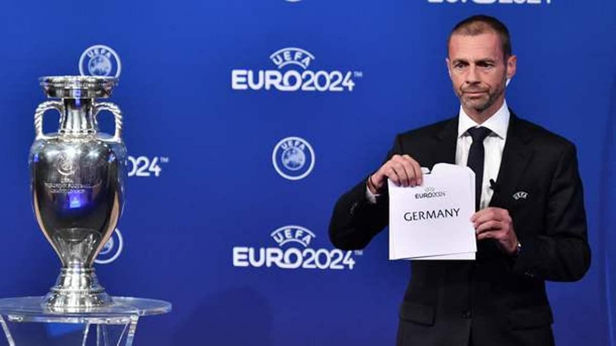 Германия примет чемпионат Евро по футболу в 2024 году