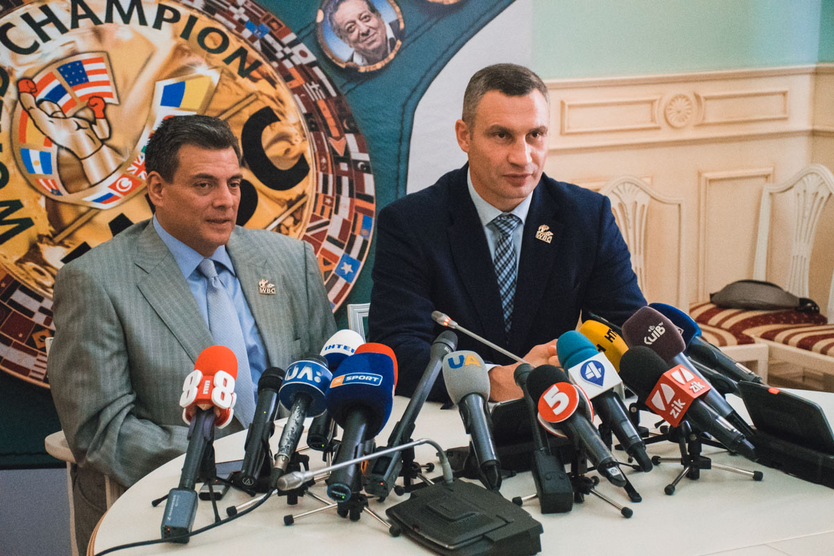 Кличко и Сулейман пообещали много сюрпризов