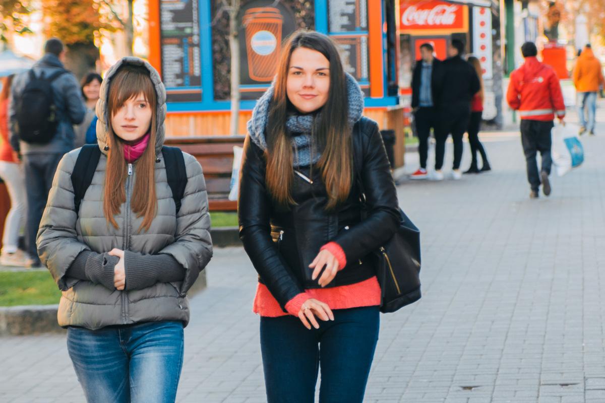 Сентябрь не радует теплой погодой, потому приходится одеваться теплее