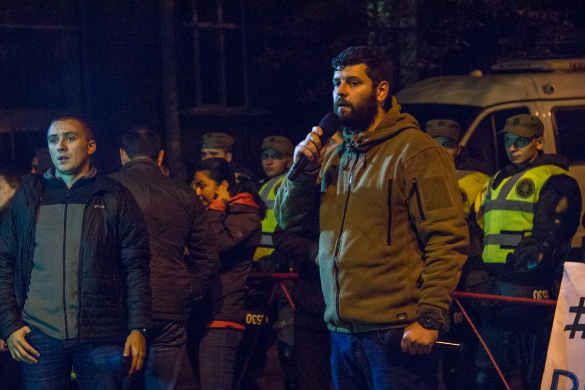 По мнению митингующих, власть закрывает глаза на участившиеся случаи нападения на активистов