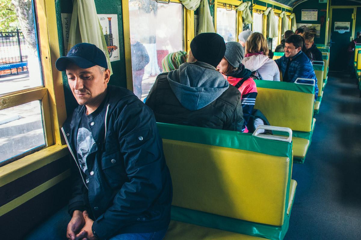 Пассажиры последнего поезда сезона