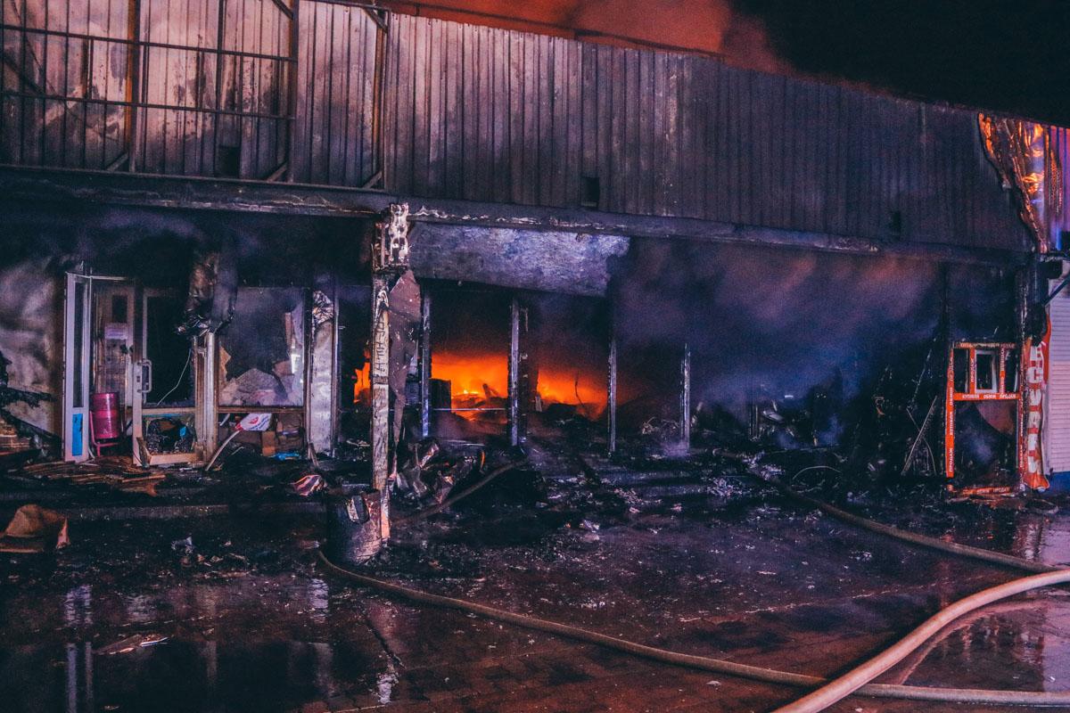 К счастью в результате пожара никто не пострадал