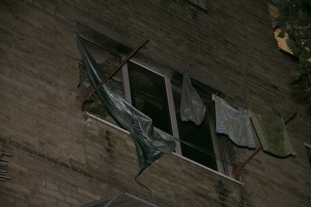 Возгорание произошло на 4 этаже