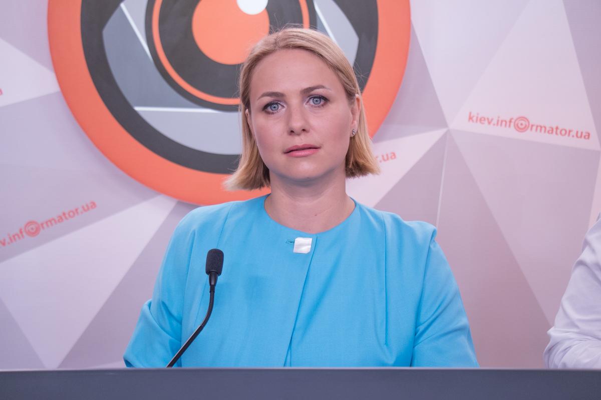 Депутат Киевсовета Анна Свириденко