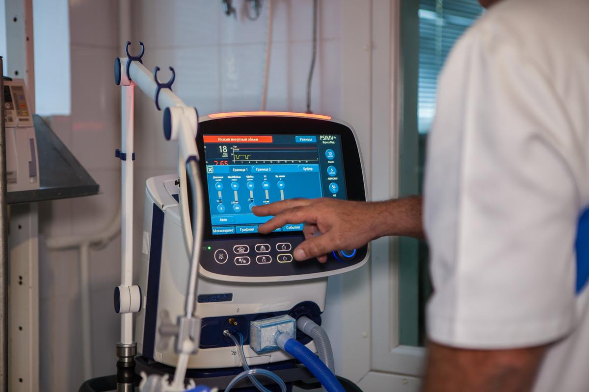 Новые медицинские аппараты для детской больницы