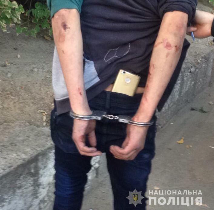 Полицейским удалось задержать злоумышленника